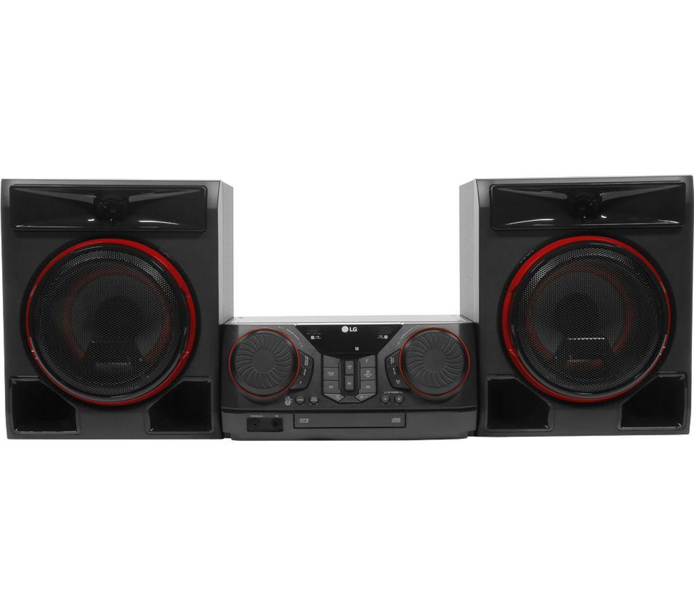 LG CK56 XBOOM Bluetooth Megasound Party Hi-Fi System - Black