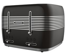 TA7870B 4-Slice Toaster - Black
