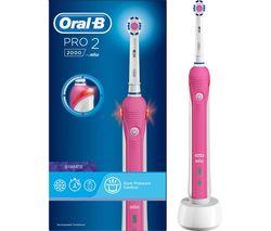 Pro 2000 Electric Toothbrush - Pink