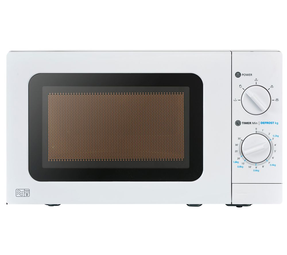 ESSENTIALS C17MW20 Solo Microwave - White