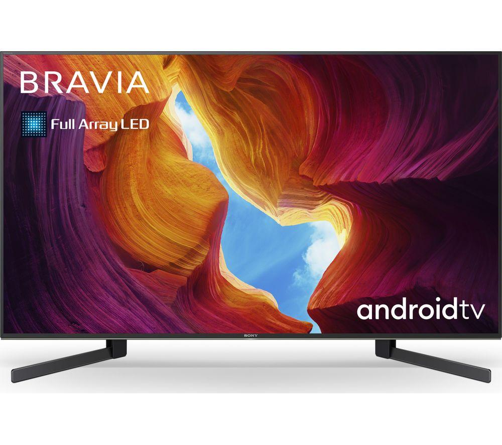 "SONY BRAVIA KD-49XH9505BU 49"" Smart 4K Ultra HD HDR LED TV with Google Assistant"