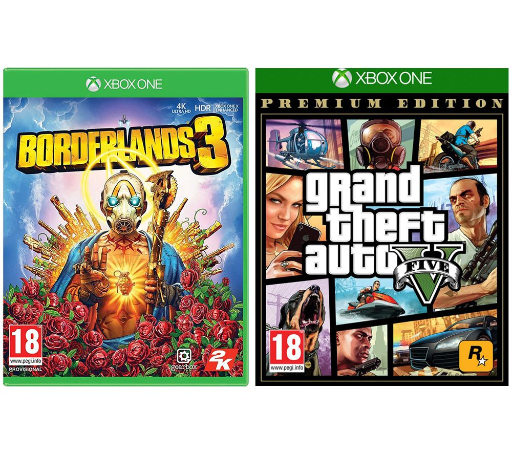 XBOX Borderlands 3 & Grand Theft Auto V: Premium Edition Bundle