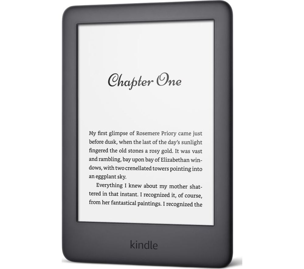 AMAZON Kindle 6 inch eReader - 4 GB, Black
