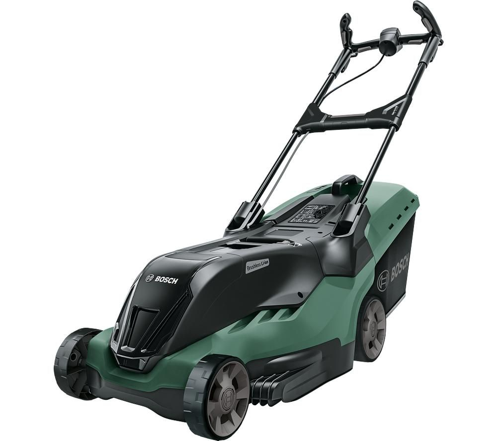 BOSCH AdvancedRotak 36-850 Cordless Rotary Lawn Mower - Green & Black, Green