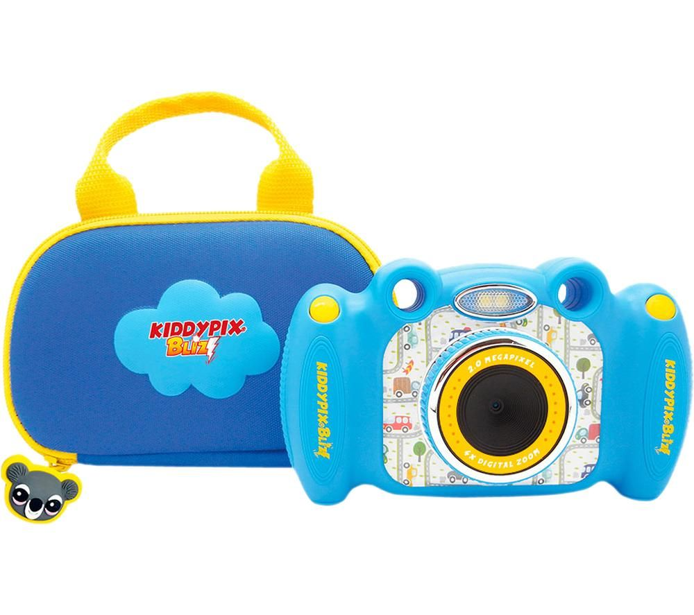 Image of EASYPIX Kiddypix Blizz Compact Camera - Blue, Blue