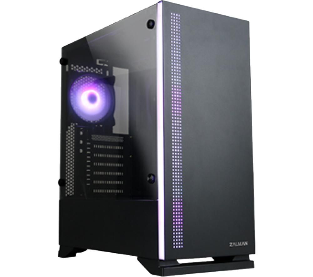 ZALMAN S5 ATX Mid-Tower PC Case - Black