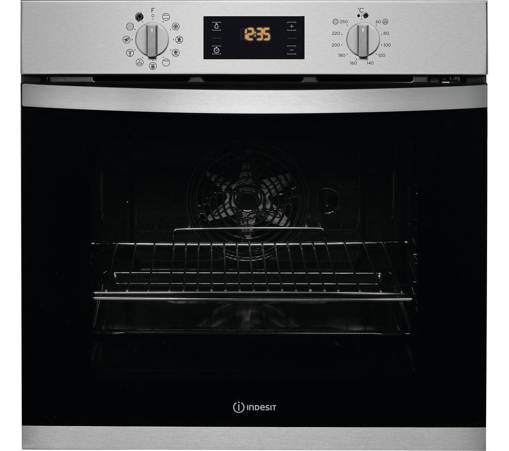 INDESIT Aria IFW 3841 P IX UK Electric Oven - Inox