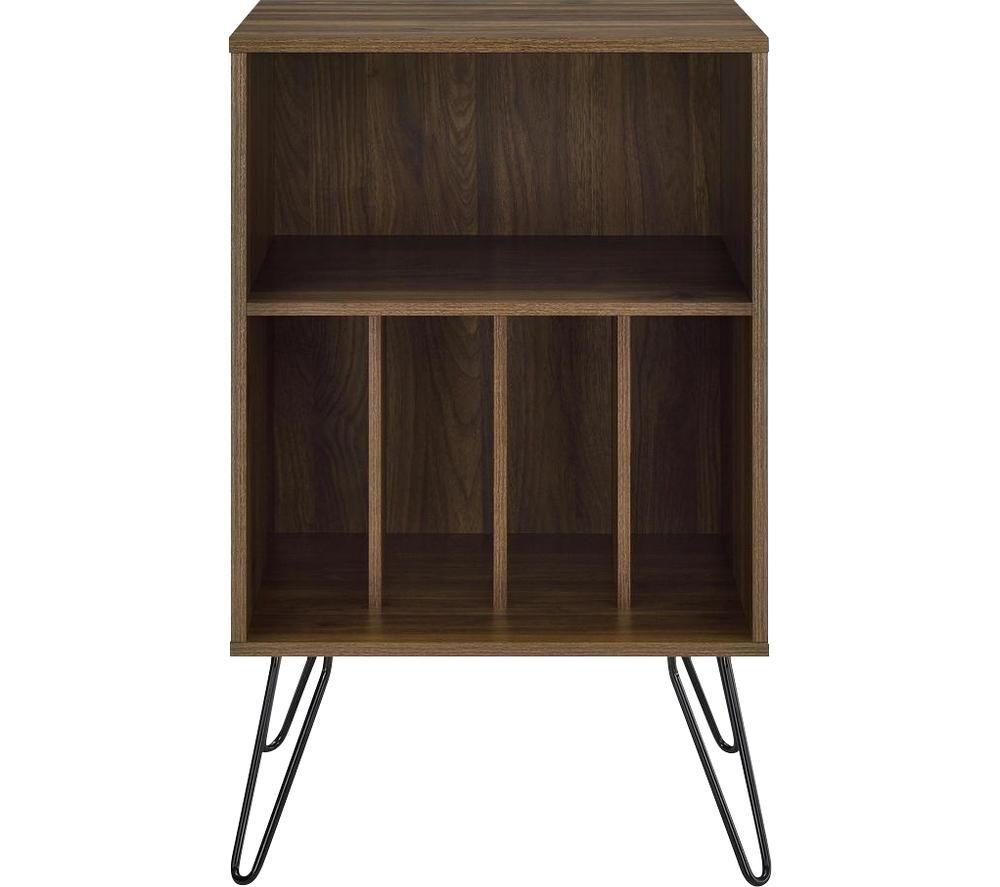 Image of DOREL HOME Concord 1324222COMUK Turntable Stand - Walnut