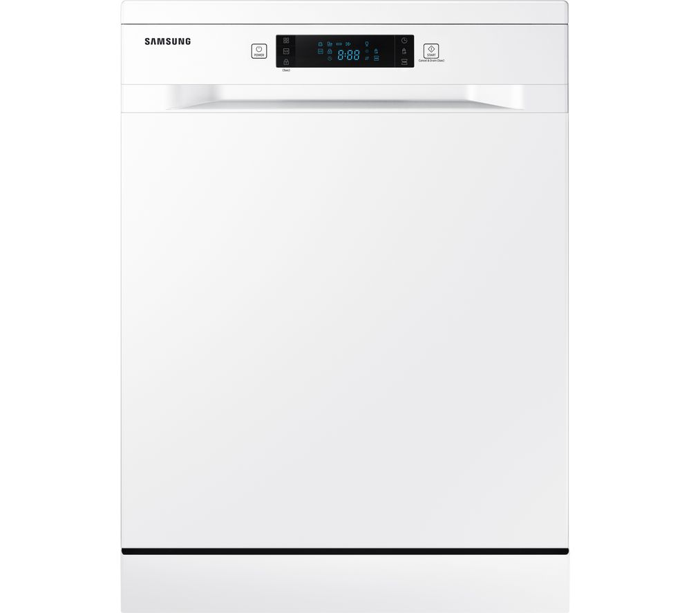 SAMSUNG DW60M5050FW Full-size Dishwasher - White