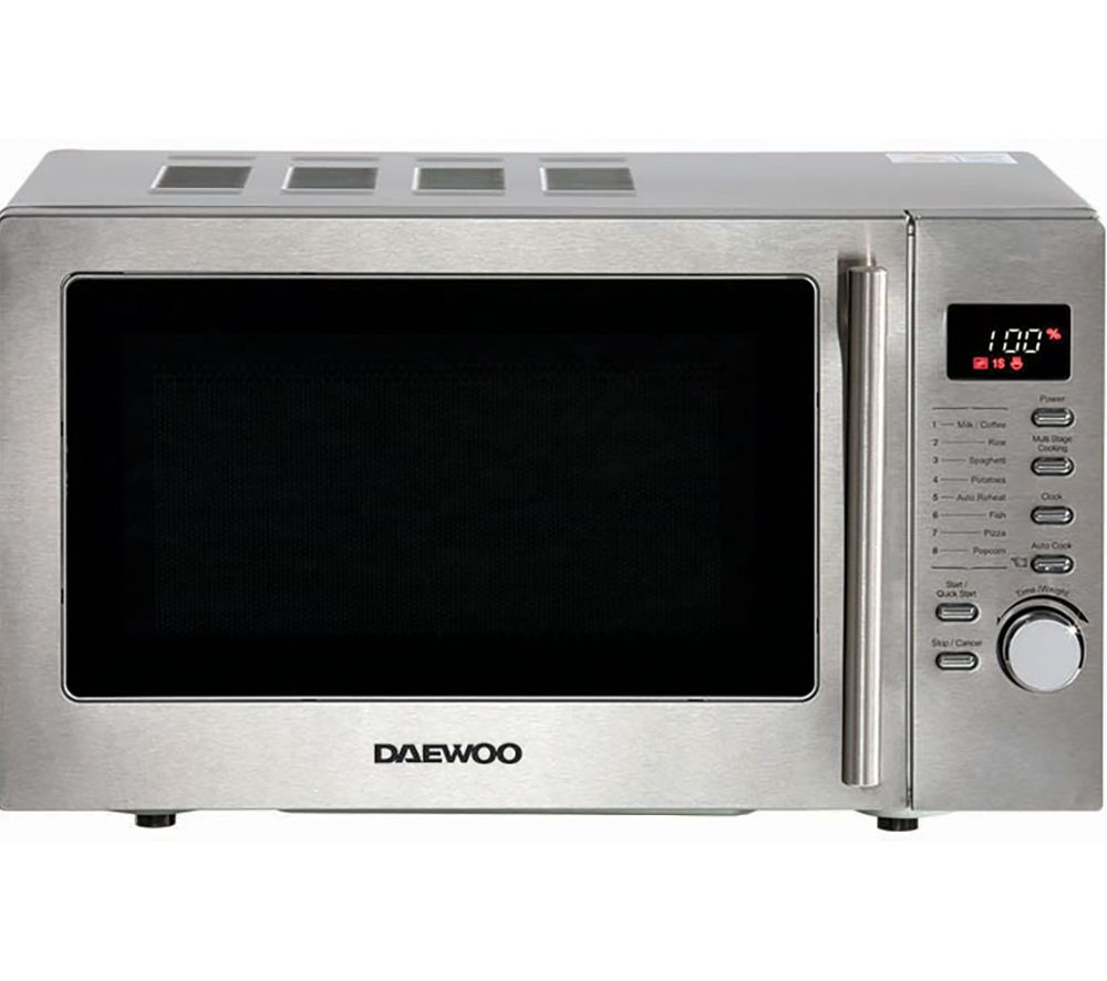DAEWOO SDA2088GE Microwave with Grill - Silver, Silver
