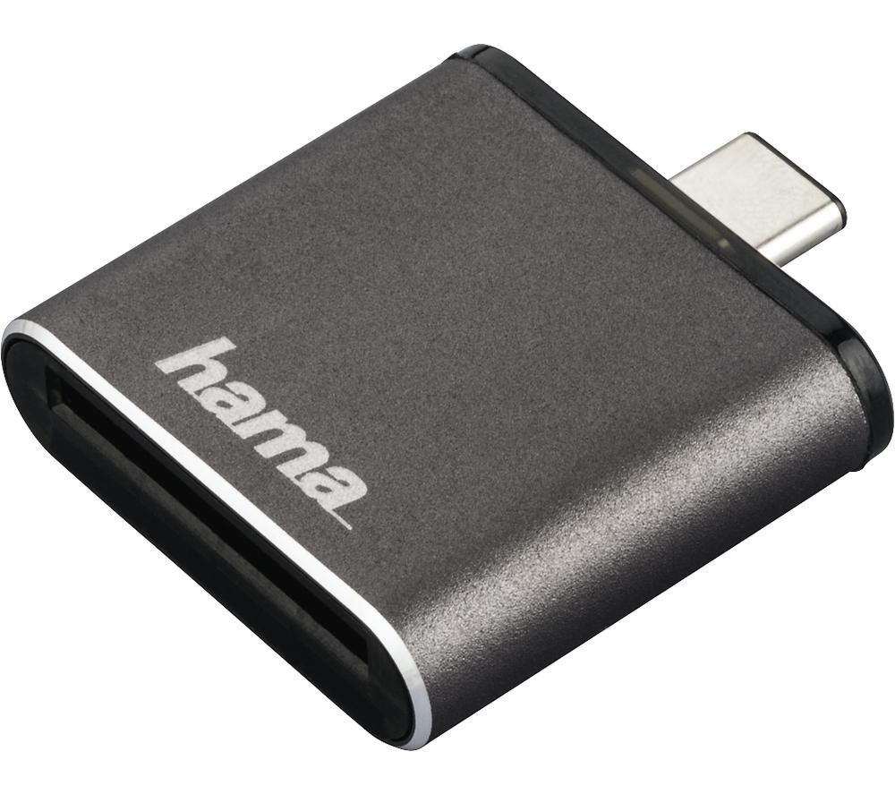 HAMA 124186 USB Type-C Card Reader