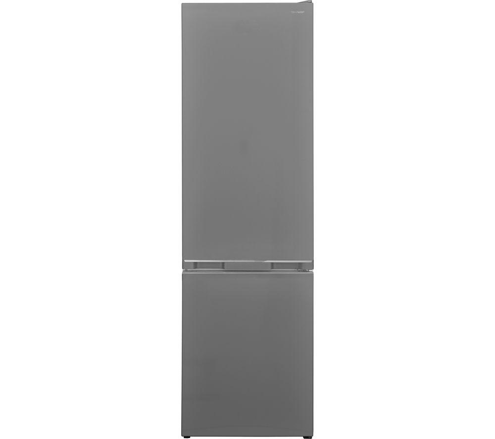 SHARP SJ-BB05DTXLF 60/40 Fridge Freezer - Stainless Steel, Stainless Steel