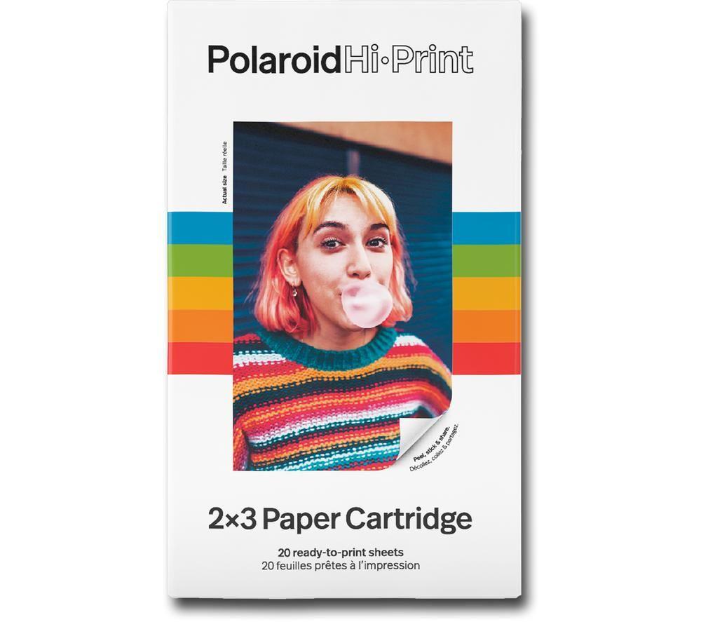 POLAROID Hi-Print 2x3 Photo Paper - 20 Sheets