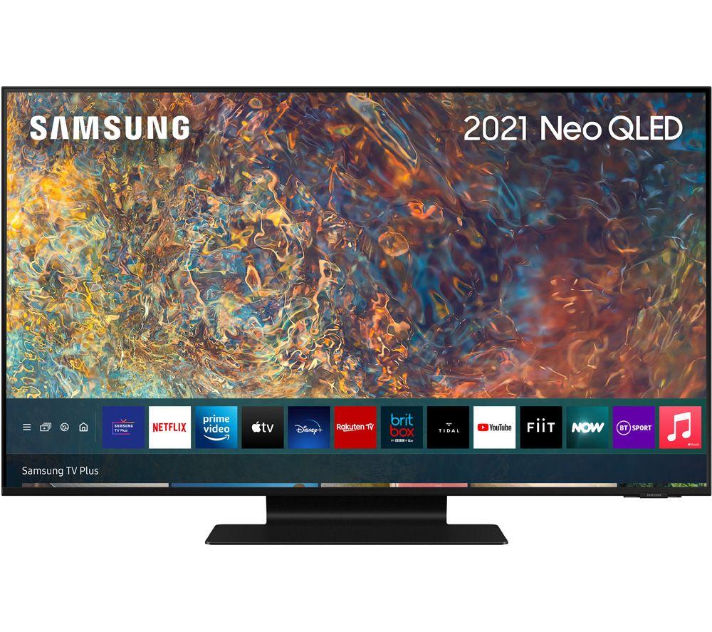 50 SAMSUNG QE50QN90AATXXU  Smart 4K Ultra HD HDR Neo QLED TV with Bixby, Alexa & Google Assistant,