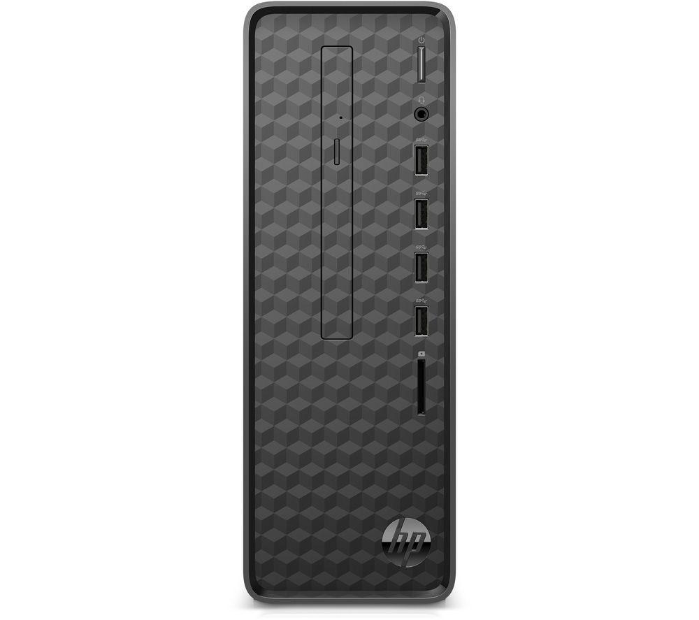 Image of HP S01-pF1012na Desktop PC - Intel® Pentium®, 512 GB SSD, Black