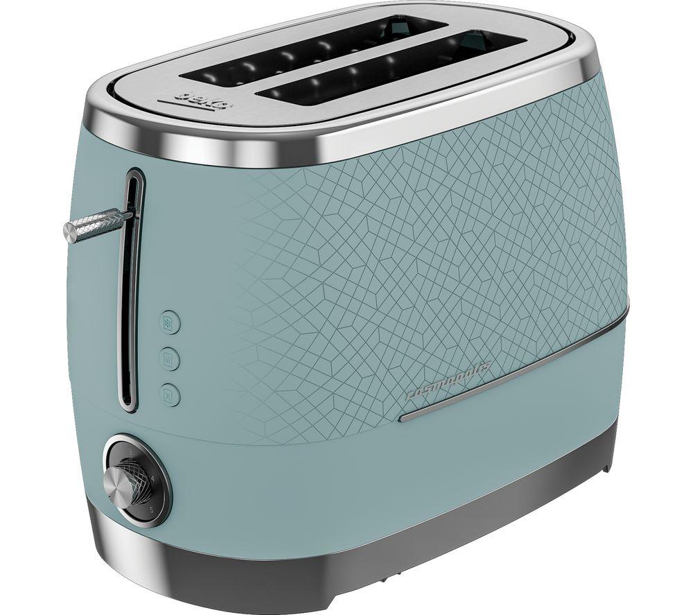 BEKO Cosmopolis TAM8202T 2-Slice Toaster - Duck Egg Blue, Blue