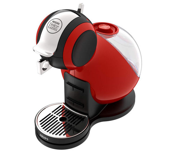 by Krups Melody 3 Hot Drinks Machine - Red + Dolce Gusto Chococino - Pack of 8