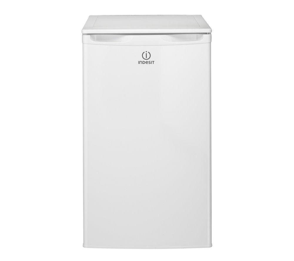INDESIT DLAA50 Undercounter Fridge - White + TZAA10 Undercounter Freezer - White