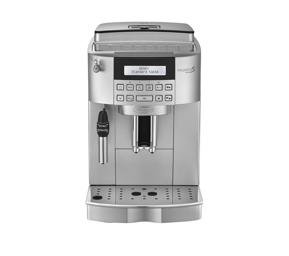buy delonghi magnifica s ecam bean to cup coffee machine silver free delivery currys. Black Bedroom Furniture Sets. Home Design Ideas