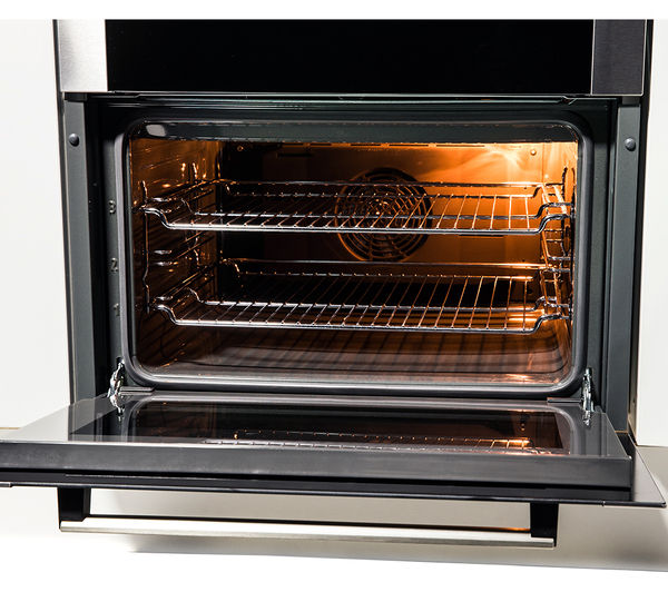 Buy bosch hbn13b251b electric built under double oven brushed steel free delivery currys - Gas electric oven best choice cooking ...