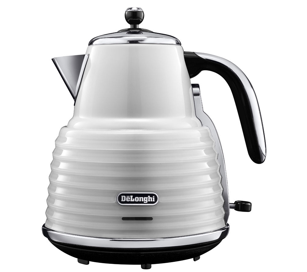 DELONGHI Scultura KBZ3001W Jug Kettle - White