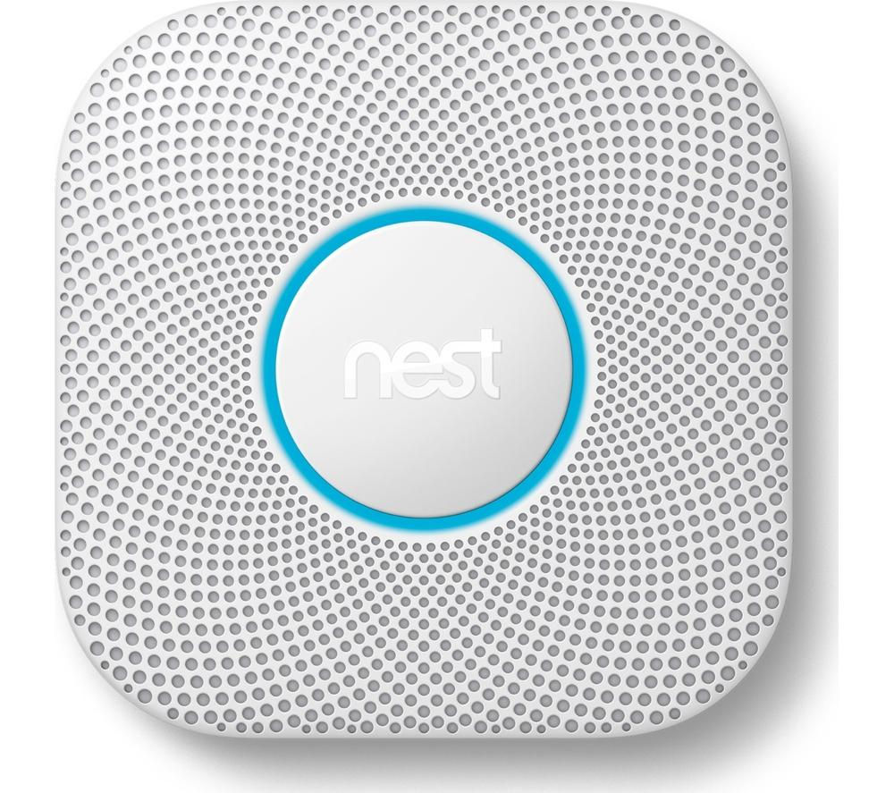 GOOGLE Nest Protect 2nd Generation Smoke and Carbon Monoxide Alarm - Battery operated