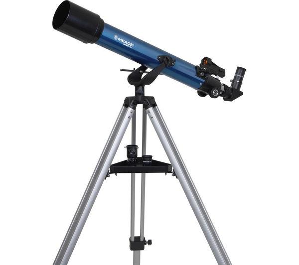 Image of MEADE Infinity 70 Refractor Telescope - Blue
