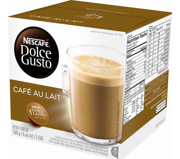 Image of NESCAFE Dolce Gusto Café au Lait - Pack of 16