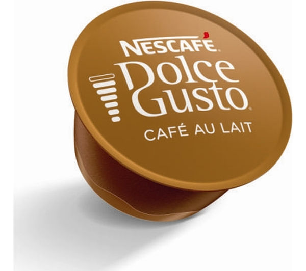 Best Coffee Maker Cafe Au Lait : Buy NESCAFE Dolce Gusto Cafe au Lait - Pack of 16 Free Delivery Currys