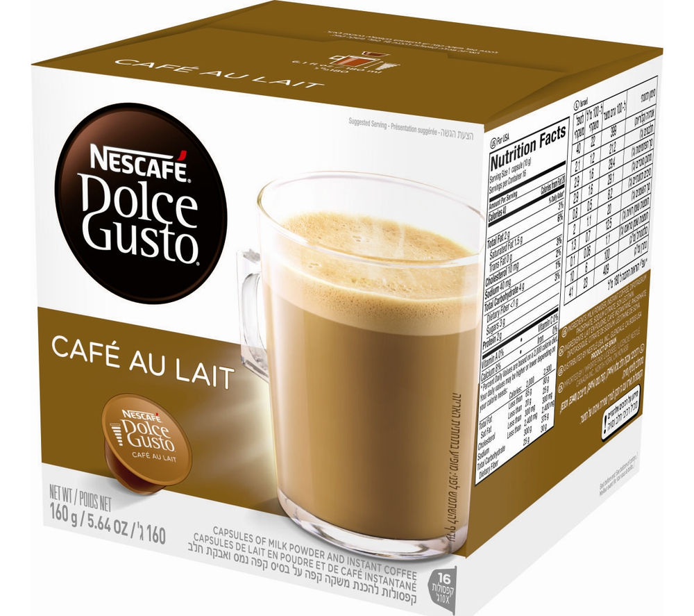 Image of NESCAFE Dolce Gusto Caf? au Lait - Pack of 16