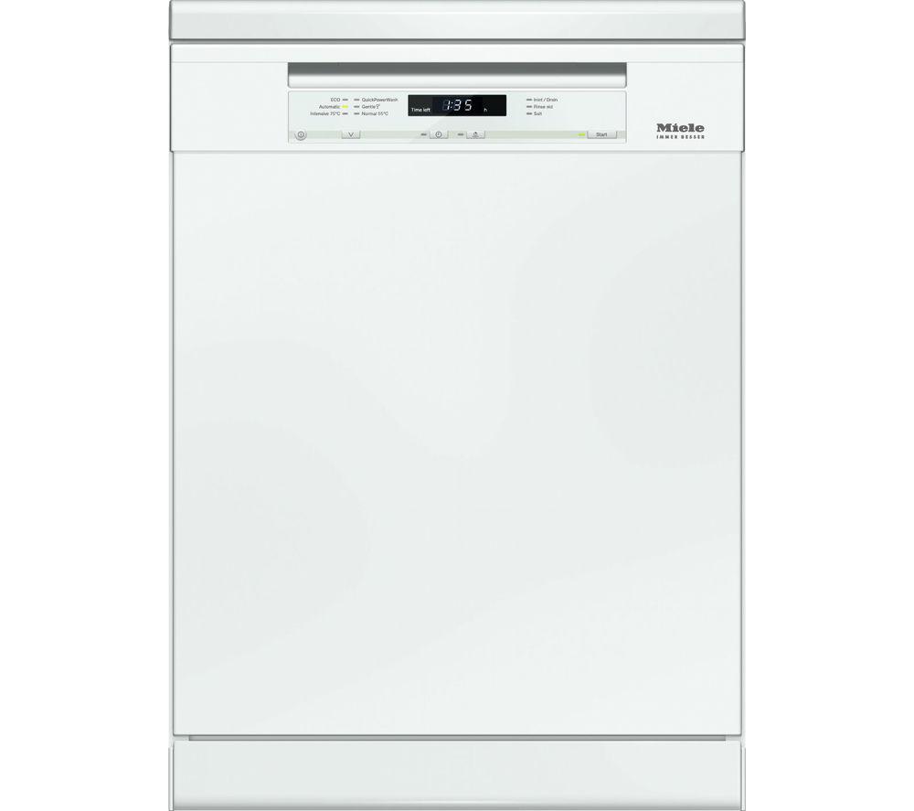 Image of MIELE G6620BK Full-size Dishwasher - White, White