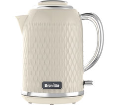 Image of BREVILLE Curve VKT019 Jug Kettle - Cream