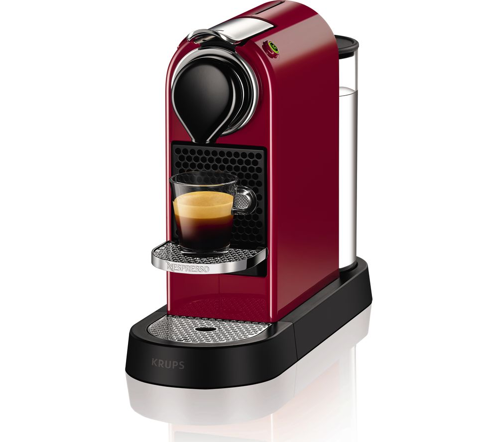 Buy Nespresso By Krups Citiz Coffee Machine Red Free
