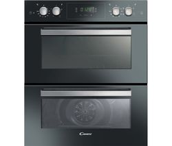 CANDY FC7D415NX Electric Double Oven - Black