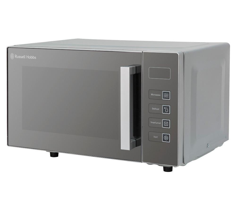 RUSSELL HOBBS Easi RHEM2301S Solo Microwave - Silver