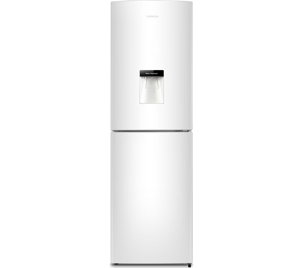 Image of KENWOOD KNFD55W17 50/50 Fridge Freezer - White, White