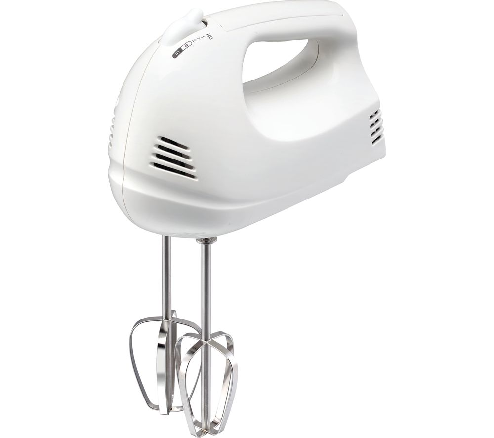 ESSENTIALS C12HMW17 Hand Mixer - White, White
