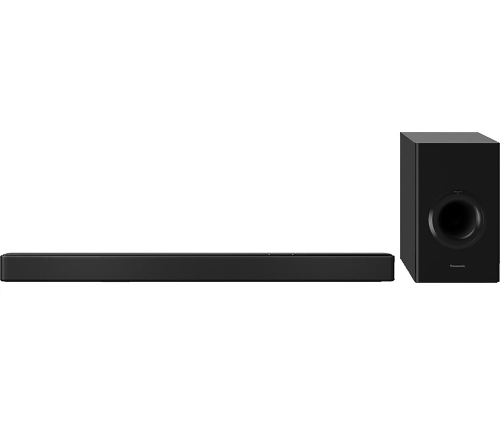 Image of PANASONIC HTB498 2.1 Wireless Sound Bar, Silver