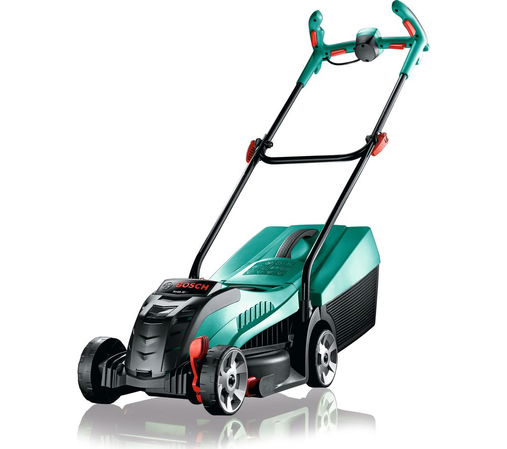 BOSCH Rotak 32 LI Cordless Rotary Lawn Mower - Green