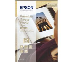 EPSON 100 x 150 mm Photo Paper - 40 Sheets