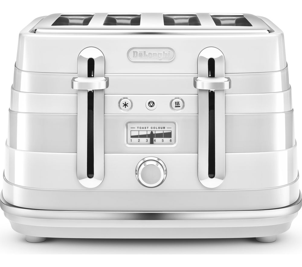 Compare retail prices of Delonghi Avvolta CTA4003.W 4-Slice Toaster to get the best deal online