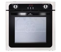 NEW WORLD NW602MF STA Electric Oven - Black & Stainless Steel