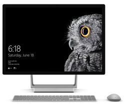"MICROSOFT Surface Studio 28"" 4K Touchscreen All-in-One PC - Silver"