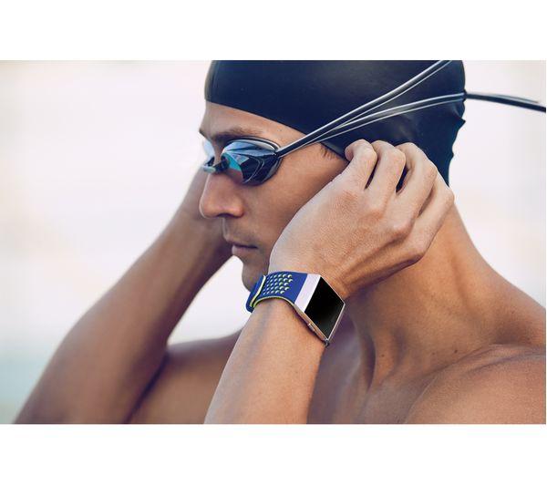 Buy Fitbit Ionic Slate Blue Amp Burnt Orange Free