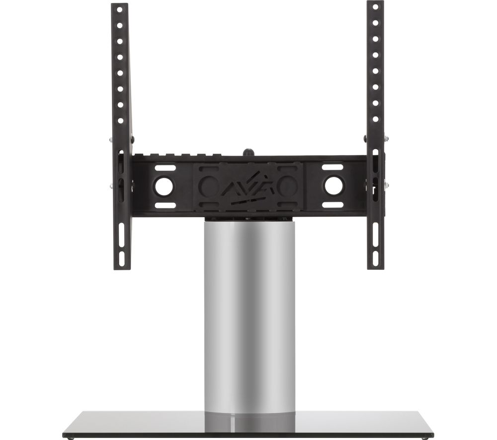 AVF B402BS 550 mm TV Stand with Bracket - Black & Sliver