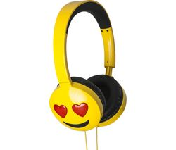 Jamogi Lovestruck Kids Headphones - Yellow
