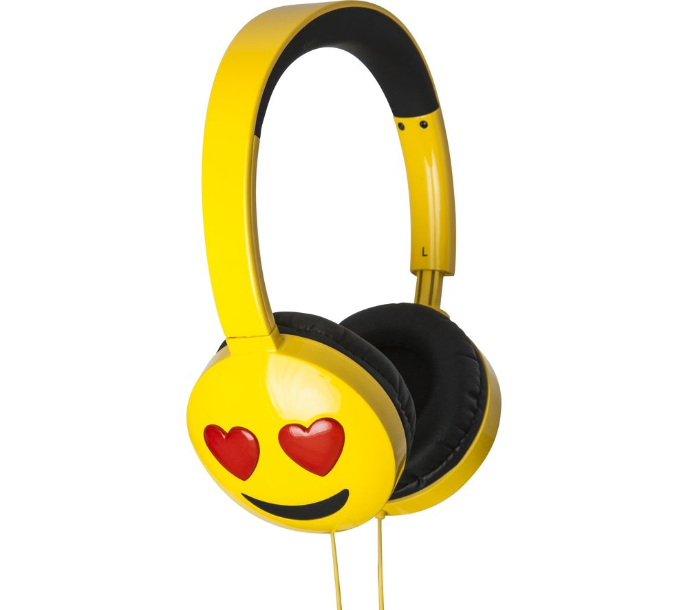 Jamogi Lovestruck Kids Headphones - Yellow