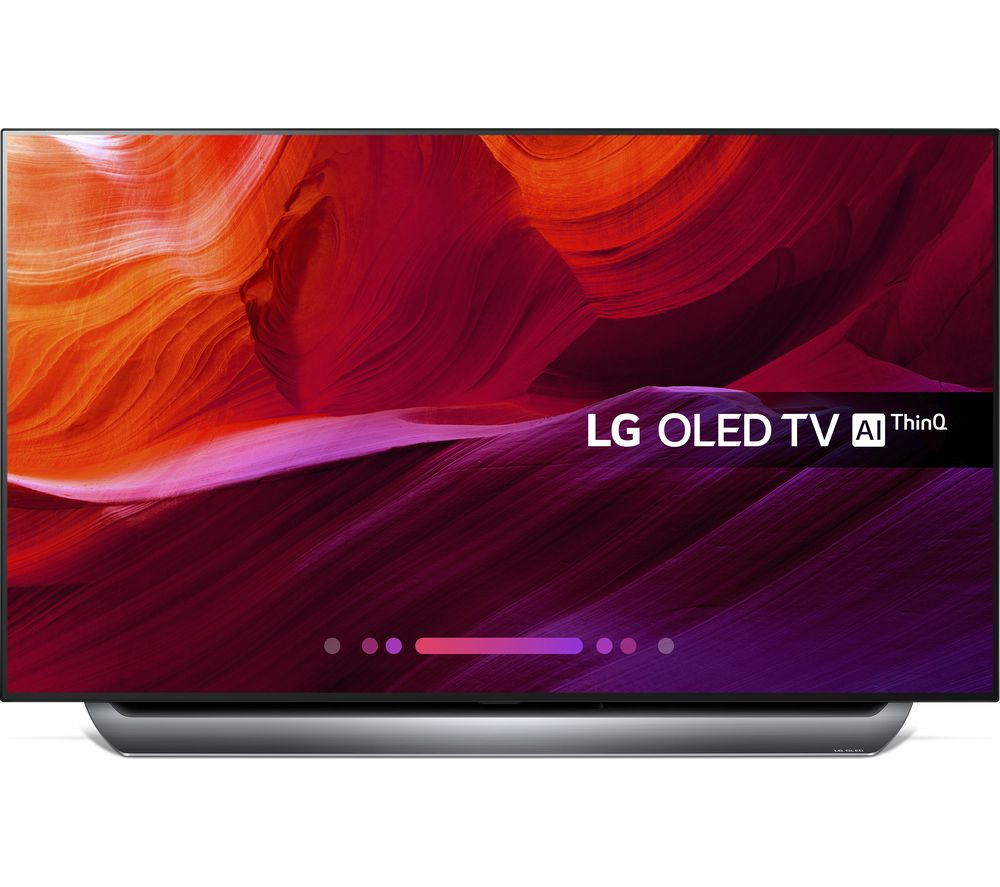 "Image of 55"" LG OLED55C8PLA Smart 4K Ultra HD HDR OLED TV, Black"
