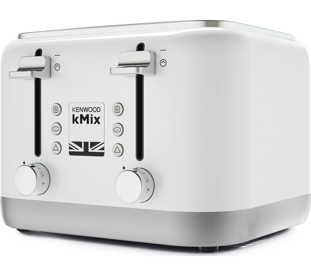 KENWOOD KMIX 4-Slice Toaster - White