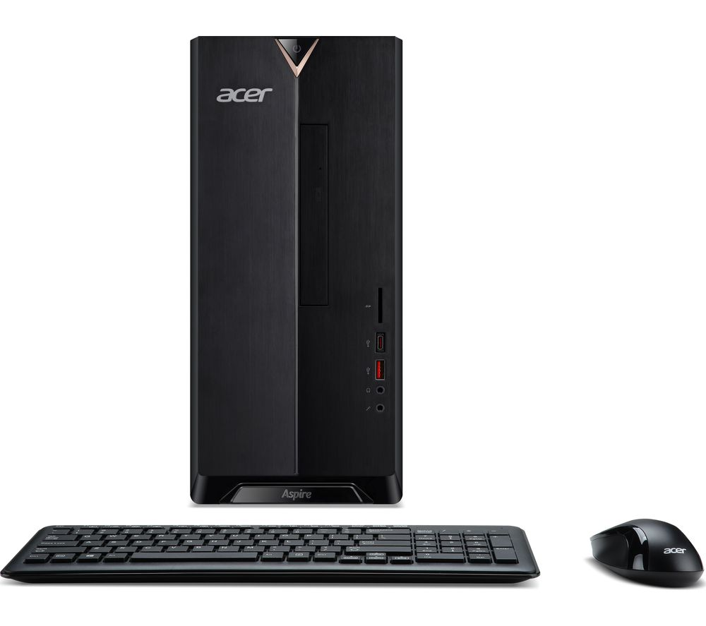 ACER TC-885 Intel® Core™ i5+ Desktop PC - 1 TB HDD, Black